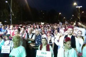 FOTO: U centru grada održana smotra kulturno-umjetničkih društava